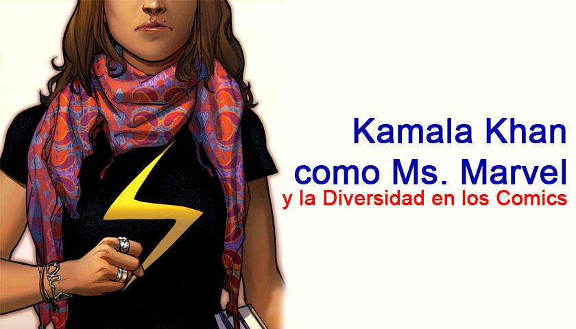Ms. Marvel y la Diversidad