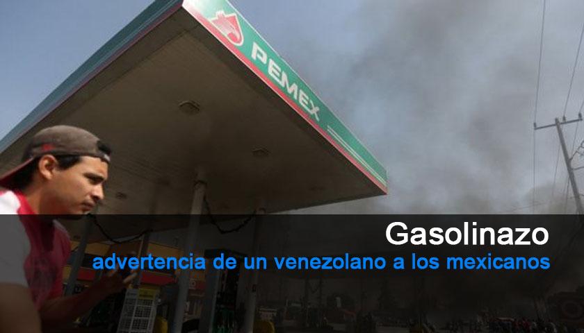 Gasolinazo en México y advertencia desde Venezuela