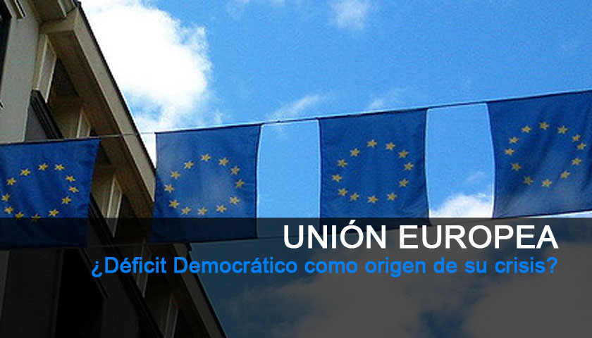 UE y su Déficit Democrático