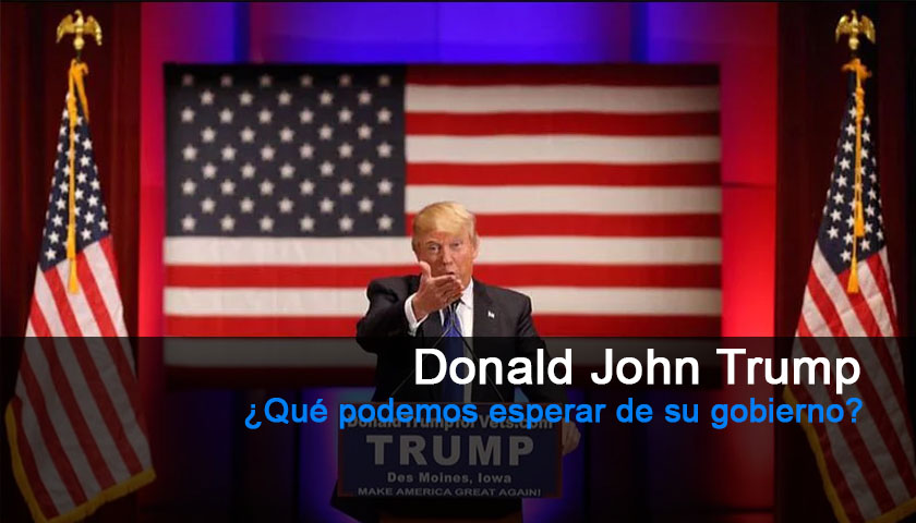 Donald Trump Presidente de Estados Unidos
