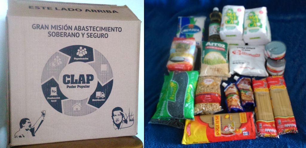 Caja CLAP Venezuela Gobierno Nicolás Maduro PSUV contenido Febrero 2017