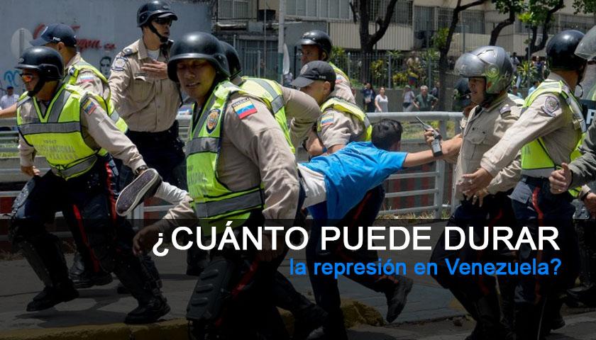 Represión Venezuela Nicolás Maduro Policia Nacional Bolivariana PNB