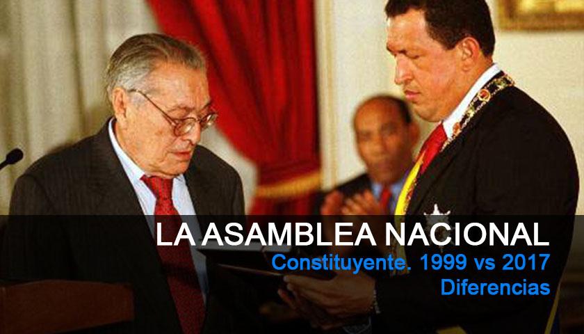 Luis Miquelena, Hugo Chavez, Asamblea Nacional Constituyente, 1999, Constitución