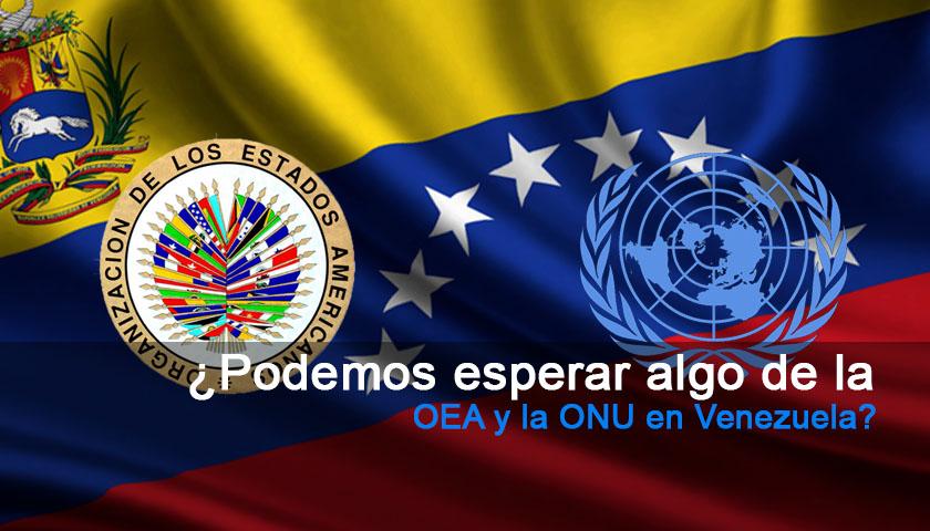 OEA, ONU, Venezuela