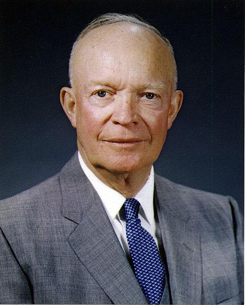 Dwight Eisenhower, President USA, Presidente de EE.UU.