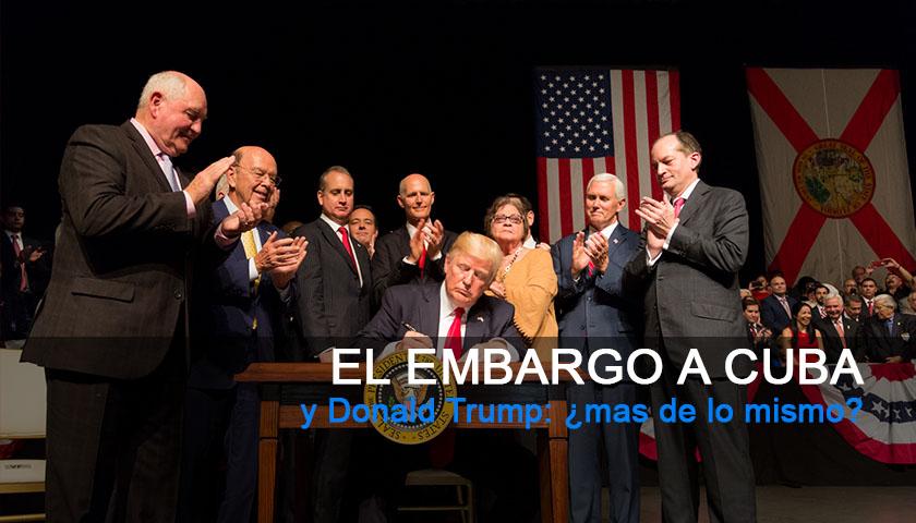 Donald Trump, Cuba, Estados Unidos