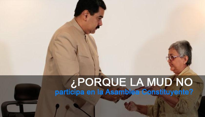 Nicolás Maduro, Asamblea Constituyente, Venezuela