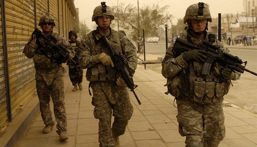 Ejército EE.UU., Invasión, Tropas, Soldados, Estados Unidos, USA, US